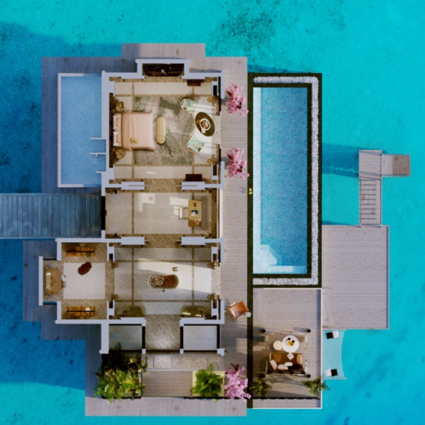JOALI MALDIVES - RAA ATOLL WATER VILLA WITH POOL