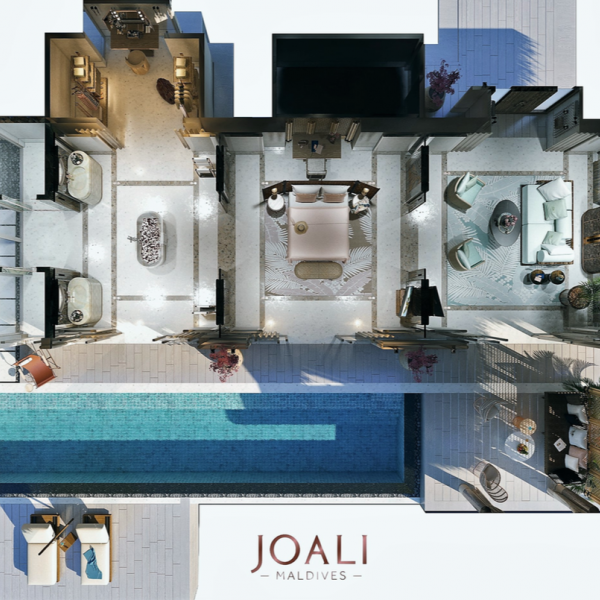 JOALI MALDIVES - RAA ATOLL LUXURY WATER VILLA WITH POOL